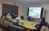 El secretario de Hidráulica, Luis Giménez expuso el avance del proyecto del acueducto en Patagones