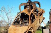 La Plata / Con más de 600 vehículos retirados, continúa la remoción y compactación de autos abandonados