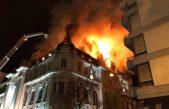 Se reavivó el incendio en el Banco Nación de Bahía Blanca y se quemaron más papeles