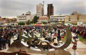 La Costa / Imponente show de 50 bateristas festejando su día en Santa Teresita