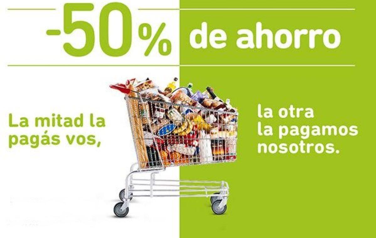 ATENCIÓN: vuelven los descuentos del 50% en supermercados para clientes del Banco Provincia