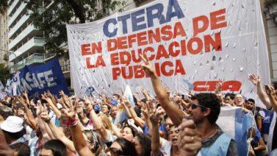 Conflicto docente: todos los gremios acataron la Conciliación pero Suteba adhiere a un paro nacional de 48 horas