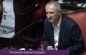 """Carballo con criticas a Cambiemos: """"el ajuste de nación contra la provincia no se puede esconder"""""""