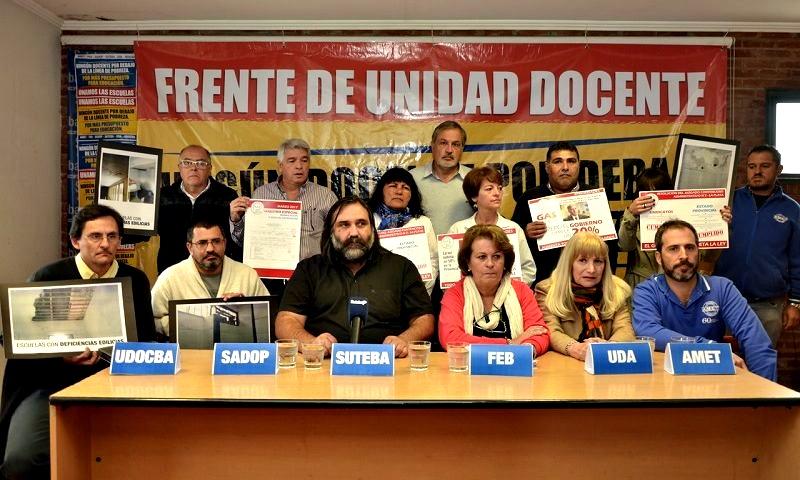 Los gremios docentes acatarían la Conciliación Obligatoria que fuerza a Vidal a volver a negociar