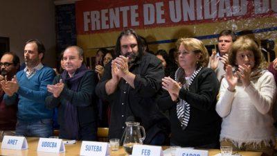 Provincia convocó a paritarias y los docentes postergaron el llamado a no reiniciar las clases