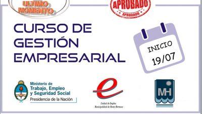 Monte Hermoso / Inicia un nuevo Curso de Gestión Empresarial