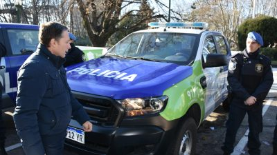 E. Echeverría / Gray aseguró que seguirá comprando equipamiento para reforzar la seguridad en el distrito