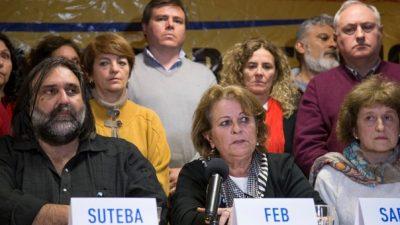 "#ParitariaDocente / Petrocini: ""Un gobierno que se autodenomina de diálogo, tuvo que esperar un fallo judicial para sentarse a dialogar nuevamente"""