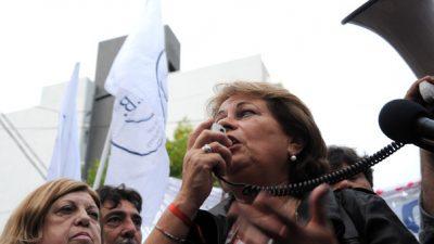 """Petrocini dijo que la Conciliación """"obliga al gobierno a negociar con los docentes"""" y advirtió que el paro sigue latente"""