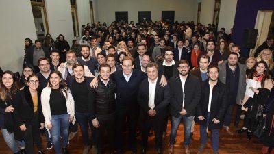 Militantes de Cambiemos realizaron un Encuentro en La Plata con la participación de Garro, López Medrano y Scarsi