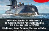 Tigre / Javier Calamaro, Lito Nebbia y Horcas, en un recital por el A.R.A. San Juan