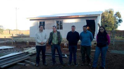 Avanza un convenio entre Buenos Aires y Corrientes para transferencia de tecnología en construcción con madera