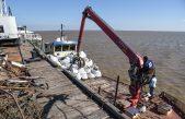 La Provincia saneó el basural a cielo abierto de la Isla Martín García