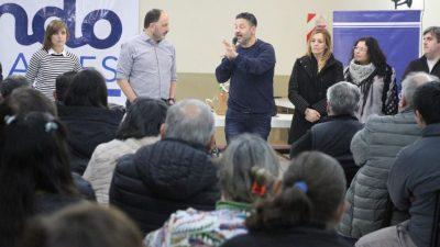 Se realizó en Tres Arroyos un acto de Unidad Peronista