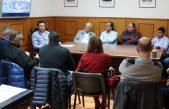 25 de Mayo / Ralinqueo recibió a representantes de cooperativas eléctricas de todo el distrito