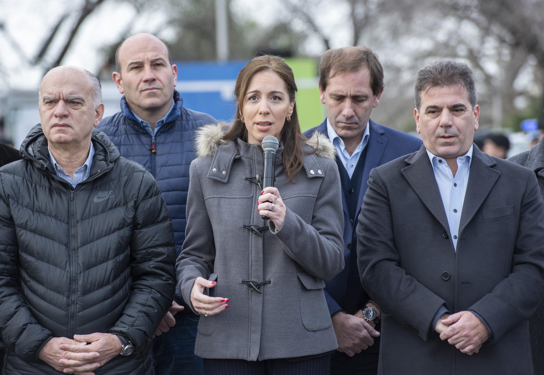Vidal para brindar mayor seguridad en el conurbano anunció refuerzos en los controles