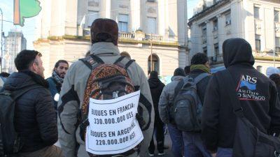 Trabajadores de Astillero rechazaron el 15% y pidieron que se garantice la fuente laboral