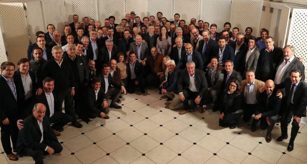 Macri y Vidal con intendentes