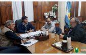 Intendentes de Bolívar, Hipólito Yrigoyen y Daireaux se reunieron por la situación de los municipios