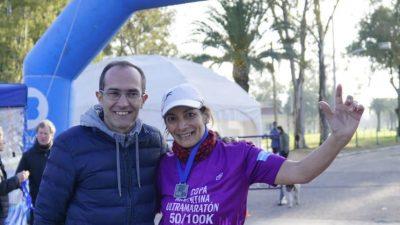 Un Bahiense ganó la ultra maratón de Bolívar