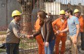 San Nicolás / La Gobernadora visitó las obras realizadas para evitar inundaciones