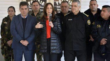 María Eugenia Vidal anunció importantes avances en la reforma integral de la policía
