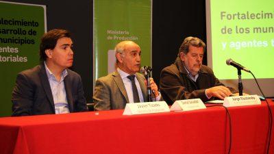 Se presentó un programa para desarrollar la productividad de los municipios bonaerenses