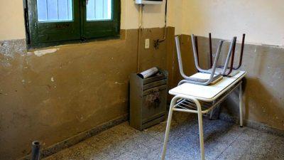Susto en una escuela de Tandil por la explosión de un calefactor