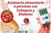 Hipolito Yrigoyen brinda asistencia alimentaria a personas con celiaquía y diabetes
