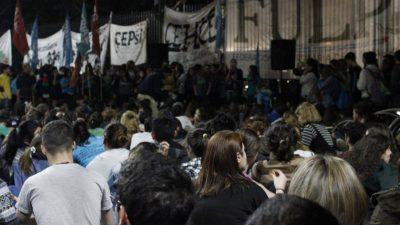 """En la previa de la """"Marcha Universitaria"""" estudiantes hicieron tomas en Facultades todo el país"""