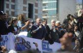 """""""Se está generando otro 17 de octubre"""", dijo Mario Secco en una marcha multitudinaria por el Astillero"""