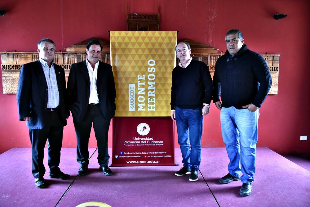 Monte Hermoso / El municipio y la UPSO lanzaron la carrera de Periodismo