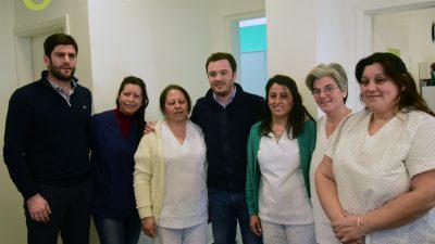 Ayacucho / El ministro de Salud bonaerense inauguró una sala de vacunación y otra de hemoterapia en el hospital municipal