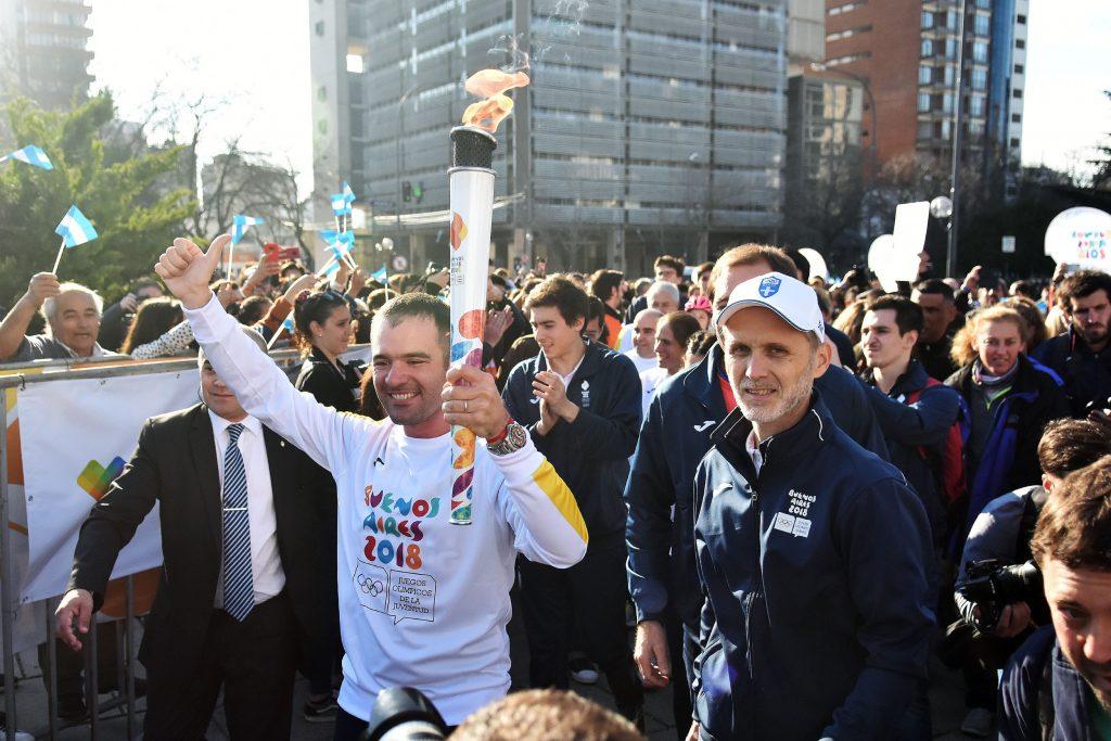 Antorcha Olímpica en La Plata