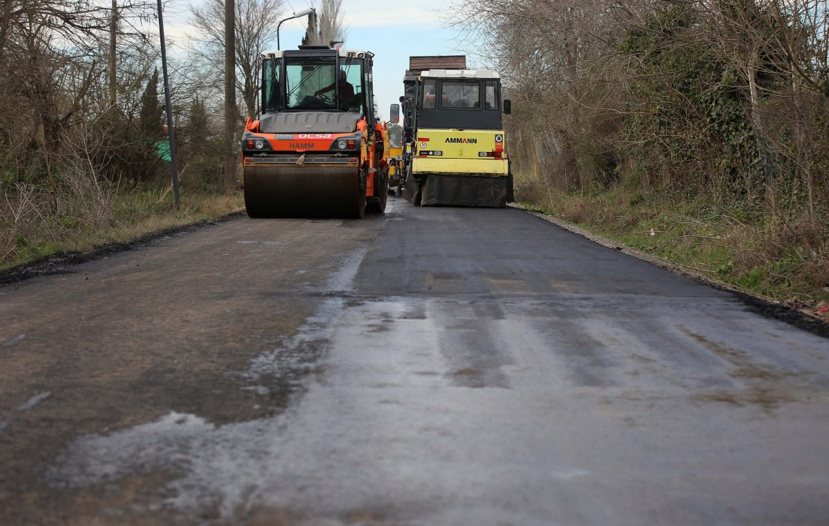 La Plata / Avanzan las obras de renovación integral de la calle 426