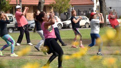 La Plata/ El municipio relanzó el programa 'ciudad en movimiento'