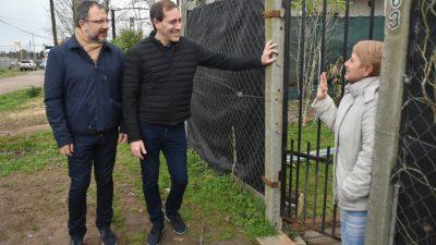 """Garro y Perechodnik encabezaron el timbreo en La Plata: """"Los vecinos nos piden que no aflojemos, no quieren volver atrás"""""""