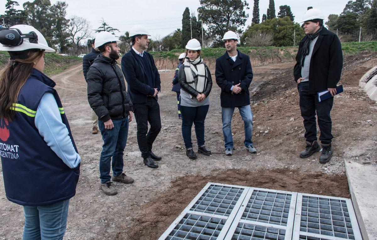 """Morón / Tagliaferro: """"Después de muchos años, Castelar Sur tiene una solución concreta a las inundaciones"""""""