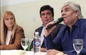 Intendentes reciben apoyo del Frente Sindical que lidera Moyano contra la quita del Fondo Sojero