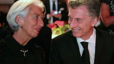 """Para la CTA y la CGT disidente Macri reedita con Lagarde las """"relaciones carnales"""" del Menemismo"""