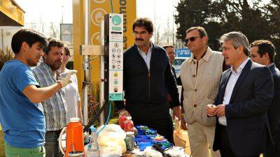 Martínez y Sarquis recorrieron la Expo Rural de Pergamino