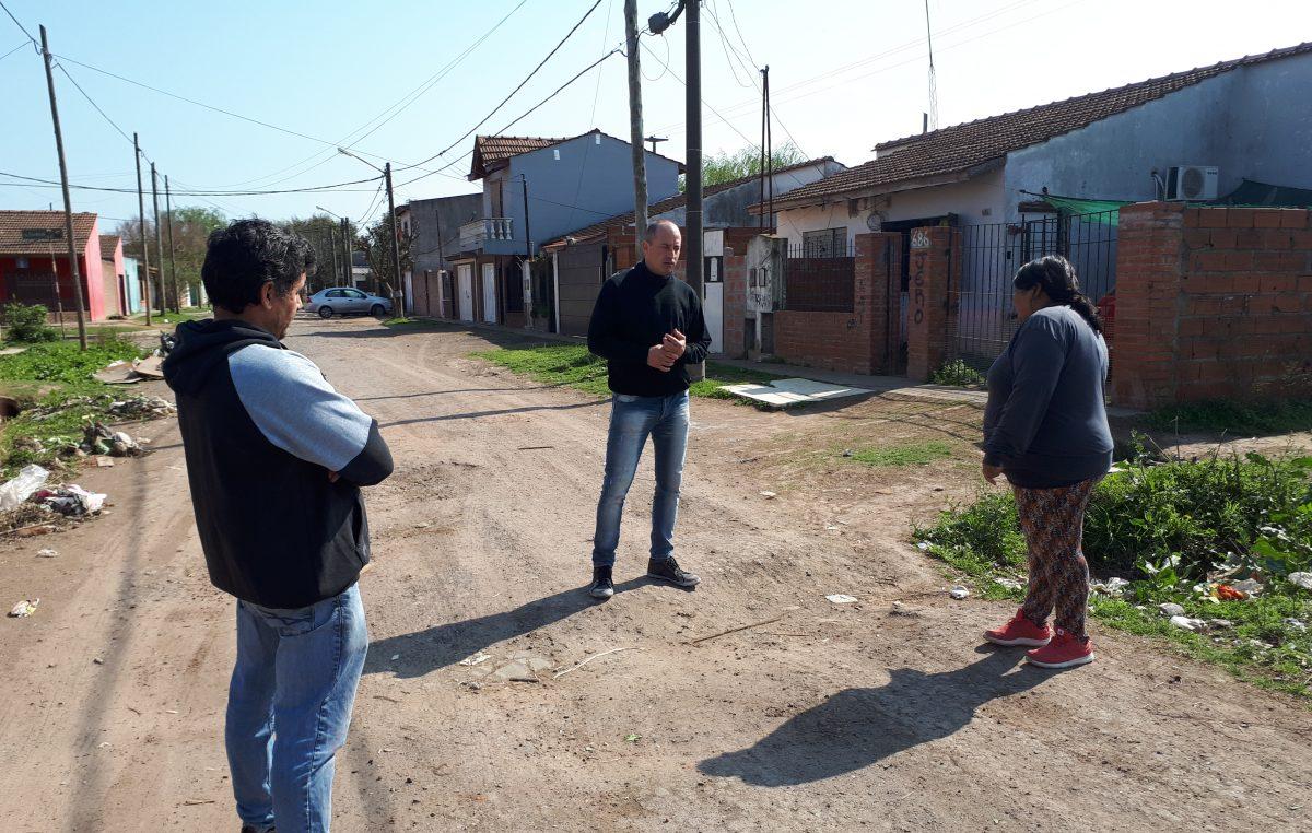"""Campana / Colella sobre la situación social """"Hoy el intendente es Sebastián Abella y debe resolverle los problemas a los vecinos"""""""