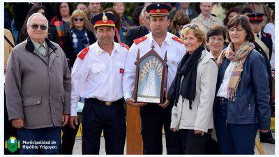 H. Yrigoyen / La ciudad estuvo a puro festejo por el 50º aniversario de los Bomberos Voluntarios
