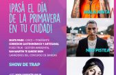 San Martín festeja el Día de la Primavera con un festival de Trap y con charlas para prevenir la violencia de género