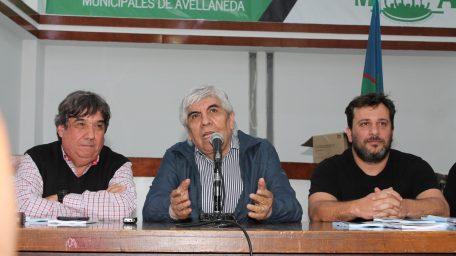 El Consejo Directivo de la CTM de Cholo García recibió a Moyano de cara al plenario en Ferro