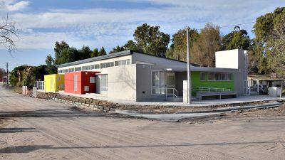 Finalizó la construcción del primer jardín maternal de Monte Hermoso