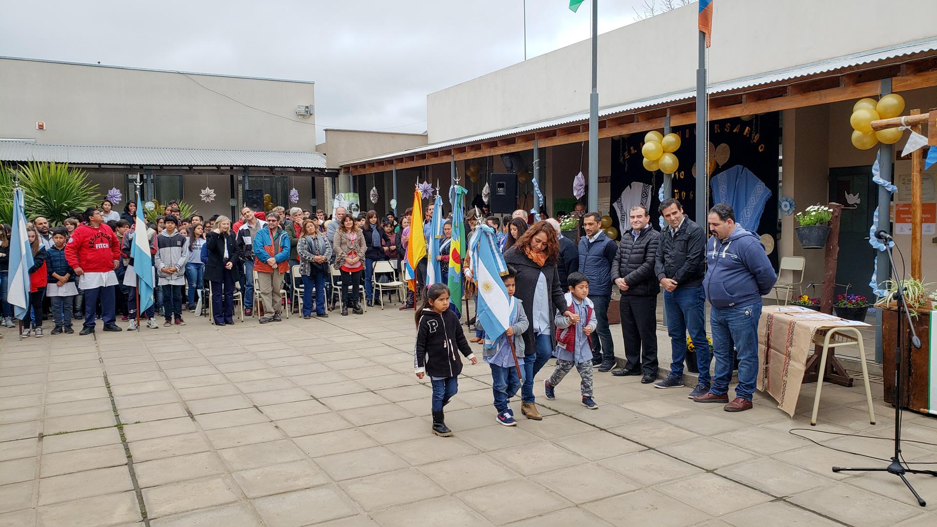 """La escuela agraria de Berazategui celebró sus 10 años y el intendente Mussi expresó: """"Apostamos a la educación pública"""""""