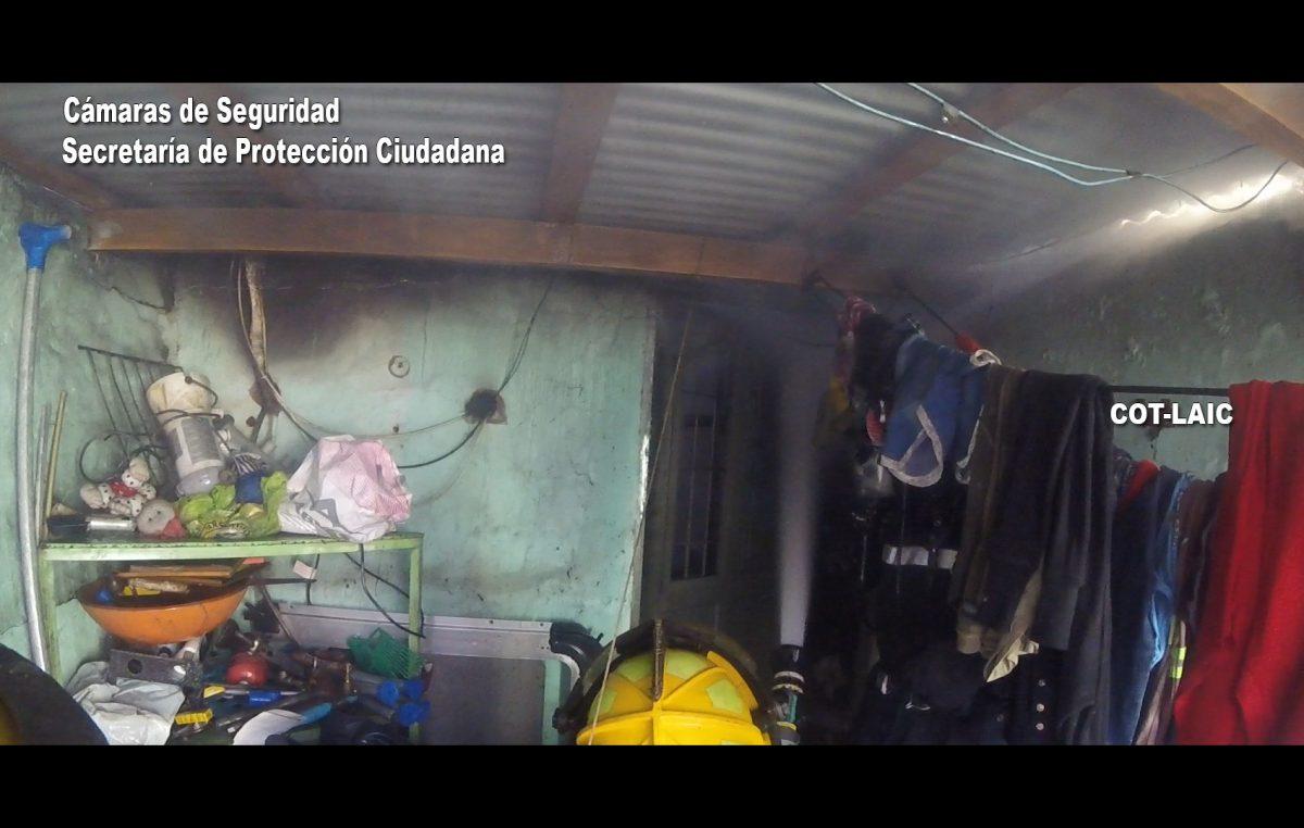 Tigre / Voraz incendio en una casa, detectado rápidamente por el sistema alerta tigre global