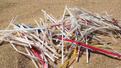 Monte Hermoso prohibió las pajitas plásticas para resguardar a sus playas
