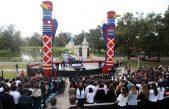 La Plata / En la República de los Niños Garro inauguró el simulacro de la ONU